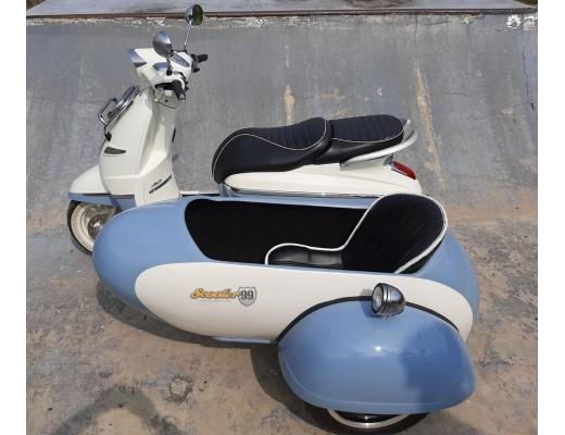 Sidecar Scooter Peugeot Django