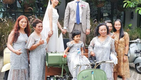 Wedding Rent Vespa Modification