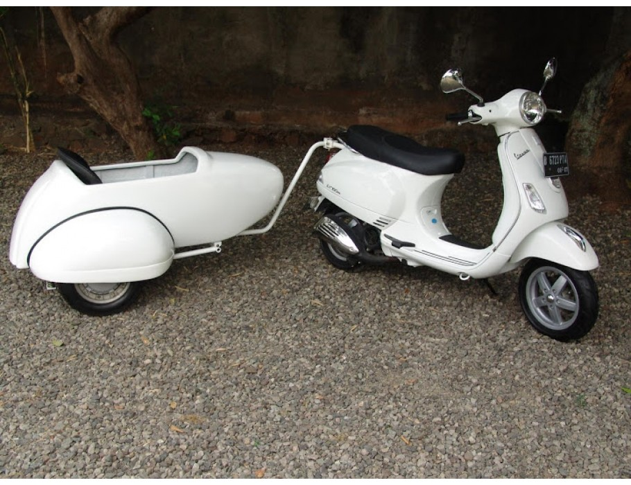 Trailer Kit For Vespa