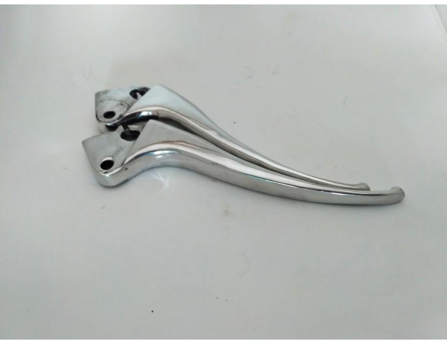 Lever clutch brake