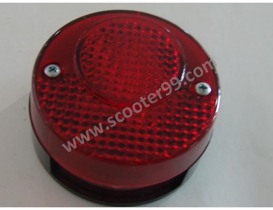 Rear Light round with reflector