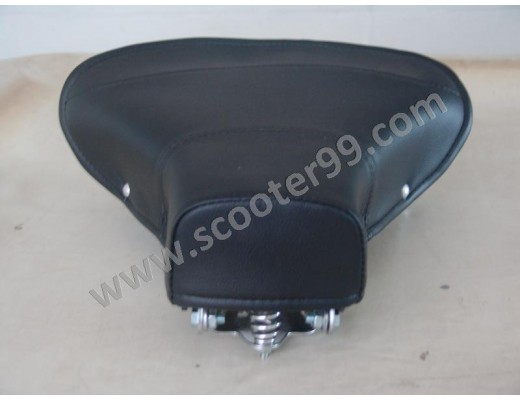 Single Saddle front, black, for Vespa 98