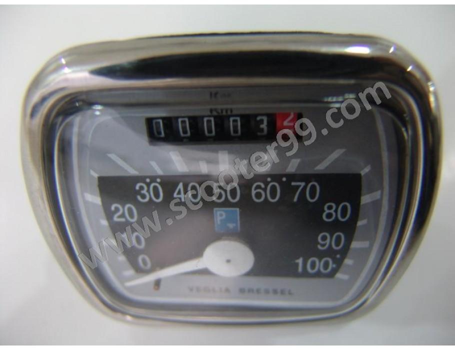 Speedometer Veglia Borletti 100km for Vespa 125
